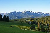 image of mountain-high  - High peaks in the Polish Tatras mountains - JPG