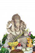 foto of hindu  - Hindu god the ganesh statue in Thailand - JPG