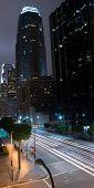 Downtown La-Street Scene