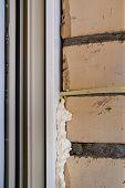 Foaming window. Repair process