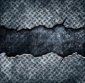 plantilla metal Grunge