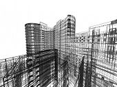 image of structural engineering  - Abstract architecture - JPG