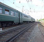 Saída ferroviária