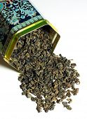 Dry green tea - The tea plant is commonly used in Chinese herbalism, where it is considered to be on