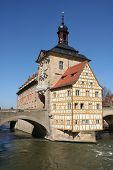 The old town hall of Bamberg (Germany)
