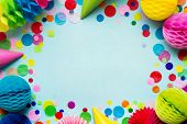 Birthday party background poster
