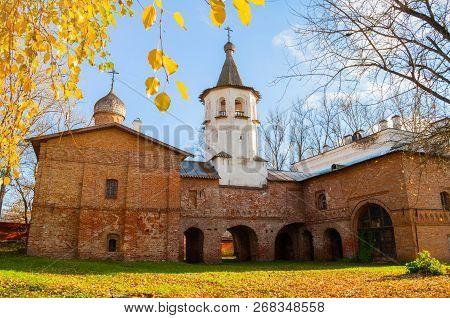Veliky Novgorod Russia Church Of