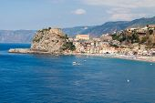 Scilla Castle And Sea Bay