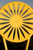 Uw Chairs Yellow Closeup