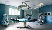 picture of endoscopy  - Operating room in a hospital - JPG