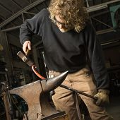 Metalsmith Shaping Metal.