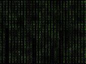Binary Matrix Green Background2
