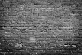 Old wall, black & white
