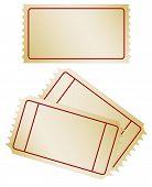 Festlegen der alten Papierticket, jpg