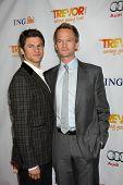 LOS ANGELES - DEC 4:  David Burtka, Neil Patrick Harris arrives at