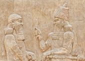 foto of sumerian  - Dating back to 3500 B - JPG