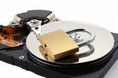 Secure Computer Hard Disk Drive