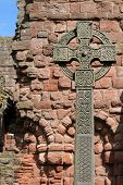 Cross on Lindisfarne