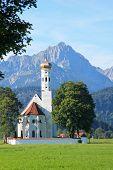 St. Coloman Church, Near Fussen, Bavaria, Germany