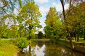 foto of vicenza  - Rotunda in the Center of the Pond in Querini Park Vicenza - JPG