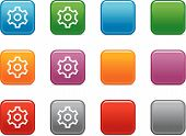 Color Buttons With Gear Icon