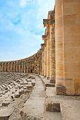 Ancient Roman Amphitheater Aspendos.