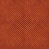 Seamless Red & Gold Polka Dot