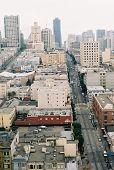 San Francisco City Scape poster