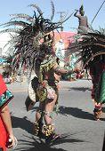 Aztec Dancer In Celebration