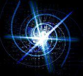 Spiral Abstract Shine