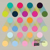 Vector Abstract geometric background.EPS10