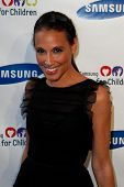 NEW YORK-MAY 29: Marisol Maldonado attends the Samsung Hope for Children gala at Cipriani Wall Street on June 11, 2013 in New York City.