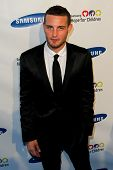 NEW YORK-MAY 29: Actor Nico Tortorella attends the Samsung Hope for Children gala at Cipriani Wall S