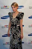 NEW YORK-MAY 29: Model Jessica Stam attends the Samsung Hope for Children gala at Cipriani Wall Stre
