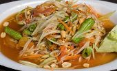 Papaya Salad Hot And Spicy