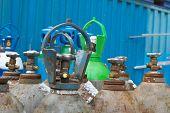 Oxygen Tanks Of Stock Industrial Enterprises