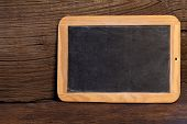 Old Slate Blackboard