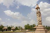 Nareli Jain Temple Under Sky