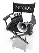 Director's Chair / Megaphone / Clapboard