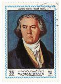 Portrait Of Ludwig Van Beethoven In 1823