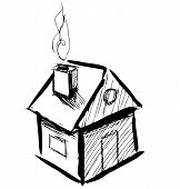 Little cartoon house