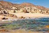 stock photo of cortez  - Where the sea meets the desert  - JPG