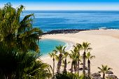 stock photo of cortez  - Beach in Cabo San Lucas Mexico on the Sea of Cortez - JPG