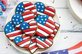 foto of cookie  - Patriotic cookies - JPG