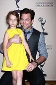 LOS ANGELES - JUN 13:  Michael Muhney arrives at the Daytime Emmy Nominees Reception presented by AT