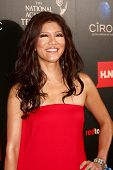 LOS ANGELES - JUN 16:  Julie Chen arrives at the 40th Daytime Emmy Awards at the Skirball Cultural C