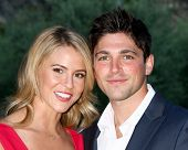 LOS ANGELES - JUN 15:  Linsey Godfrey, Robert Adamson attends The Leukemia & Lymphoma Society 2013 M