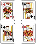 Four Kings. Original design