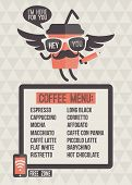 Cafe Menu. Seamless Background And Design Elements