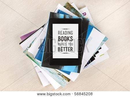 Reading Books Makes You Better poster